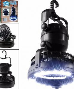 2 in 1  Waterproof Camping Lantern and Fan